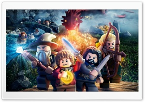 Lego The Hobbit 2014 (video game) HD Wide Wallpaper for 4K UHD Widescreen desktop & smartphone