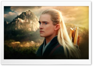 Legolas - The Hobbit HD Wide Wallpaper for 4K UHD Widescreen desktop & smartphone