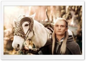 Legolas Painting HD Wide Wallpaper for Widescreen