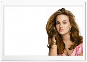 Leighton Meester HD Wide Wallpaper for Widescreen