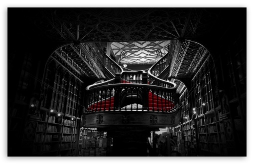 Lello Bookshop in Porto, Portugal HD wallpaper for Wide 16:10 5:3 Widescreen WHXGA WQXGA WUXGA WXGA WGA ; HD 16:9 High Definition WQHD QWXGA 1080p 900p 720p QHD nHD ; Standard 4:3 5:4 3:2 Fullscreen UXGA XGA SVGA QSXGA SXGA DVGA HVGA HQVGA devices ( Apple PowerBook G4 iPhone 4 3G 3GS iPod Touch ) ; Tablet 1:1 ; iPad 1/2/Mini ; Mobile 4:3 5:3 3:2 16:9 5:4 - UXGA XGA SVGA WGA DVGA HVGA HQVGA devices ( Apple PowerBook G4 iPhone 4 3G 3GS iPod Touch ) WQHD QWXGA 1080p 900p 720p QHD nHD QSXGA SXGA ; Dual 16:10 5:3 16:9 4:3 5:4 WHXGA WQXGA WUXGA WXGA WGA WQHD QWXGA 1080p 900p 720p QHD nHD UXGA XGA SVGA QSXGA SXGA ;