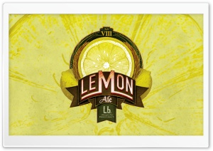Lemon Ale HD Wide Wallpaper for Widescreen