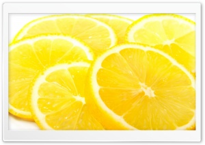Lemon Slices HD Wide Wallpaper for Widescreen