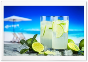 Lemonade Summer Cold Drinks HD Wide Wallpaper for 4K UHD Widescreen desktop & smartphone