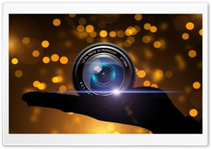 Lens Ultra HD Wallpaper for 4K UHD Widescreen desktop, tablet & smartphone
