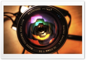 Lens Camera HD Wide Wallpaper for Widescreen