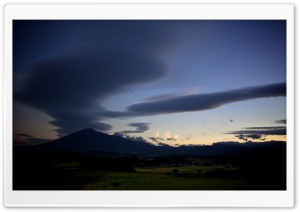 Lenticular Clouds HD Wide Wallpaper for 4K UHD Widescreen desktop & smartphone