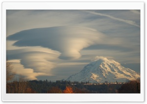 Lenticular Clouds HD Wide Wallpaper for Widescreen