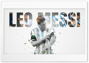 Leo Messi HD Wide Wallpaper for Widescreen