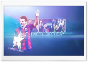 Leo Messi - 28 Years Old HD Wide Wallpaper for Widescreen