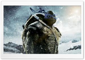 Leonardo - Teenage Mutant Ninja Turtles 2014 Movie HD Wide Wallpaper for Widescreen