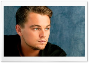 Leonardo DiCaprio Portrait HD Wide Wallpaper for Widescreen