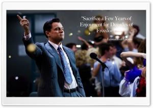 Leonardo DiCaprio quote Ultra HD Wallpaper for 4K UHD Widescreen desktop, tablet & smartphone