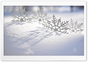 Les Flocons HD Wide Wallpaper for Widescreen