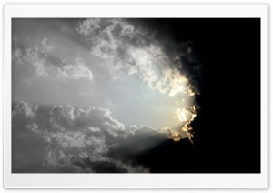 Let There Be Light HD Wide Wallpaper for Widescreen