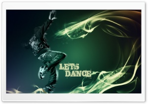 Lets Dance HD Wide Wallpaper for Widescreen