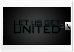 Lets Us Get United HD Wide Wallpaper for Widescreen