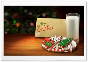 Letter For Santa HD Wide Wallpaper for Widescreen