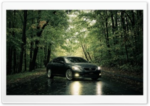Lexus In The Rain HD Wide Wallpaper for Widescreen