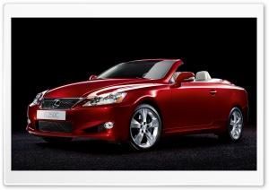 Lexus IS250C Convertible HD Wide Wallpaper for Widescreen