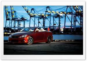 Lexus IS 350C HD Wide Wallpaper for Widescreen