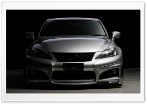 Lexus IS F Front HD Wide Wallpaper for Widescreen