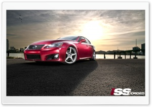 Lexus ISS IS-F HD Wide Wallpaper for Widescreen
