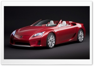 Lexus LF A Roadster HD Wide Wallpaper for Widescreen