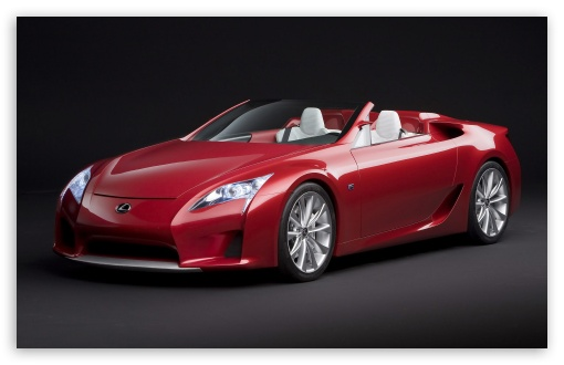 Lexus LF A Roadster HD wallpaper for Wide 16:10 5:3 Widescreen WHXGA WQXGA WUXGA WXGA WGA ; HD 16:9 High Definition WQHD QWXGA 1080p 900p 720p QHD nHD ; Standard 3:2 Fullscreen DVGA HVGA HQVGA devices ( Apple PowerBook G4 iPhone 4 3G 3GS iPod Touch ) ; Mobile 5:3 3:2 16:9 - WGA DVGA HVGA HQVGA devices ( Apple PowerBook G4 iPhone 4 3G 3GS iPod Touch ) WQHD QWXGA 1080p 900p 720p QHD nHD ;