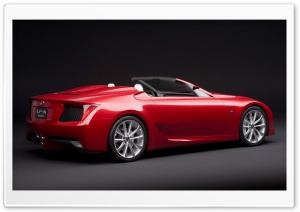 Lexus LF A Roadster Car HD Wide Wallpaper for Widescreen