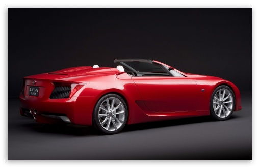Lexus LF A Roadster Car HD wallpaper for Wide 16:10 5:3 Widescreen WHXGA WQXGA WUXGA WXGA WGA ; HD 16:9 High Definition WQHD QWXGA 1080p 900p 720p QHD nHD ; Standard 3:2 Fullscreen DVGA HVGA HQVGA devices ( Apple PowerBook G4 iPhone 4 3G 3GS iPod Touch ) ; Mobile 5:3 3:2 16:9 - WGA DVGA HVGA HQVGA devices ( Apple PowerBook G4 iPhone 4 3G 3GS iPod Touch ) WQHD QWXGA 1080p 900p 720p QHD nHD ;