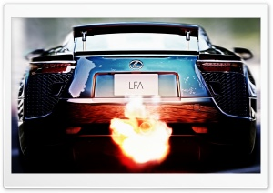 Lexus LFA HD Wide Wallpaper for Widescreen