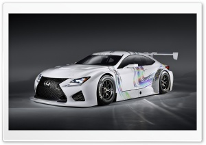 Lexus RC F GT3 Concept HD Wide Wallpaper for Widescreen