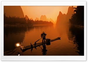 Li River HD Wide Wallpaper for Widescreen