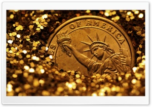 Liberty Buried In Gold HD Wide Wallpaper for Widescreen