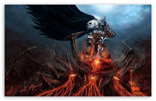 Lich King Diablo Ultra Hd Desktop Background Wallpaper For