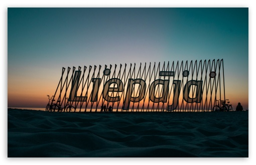 Liepaja beach sign UltraHD Wallpaper for Wide 16:10 5:3 Widescreen WHXGA WQXGA WUXGA WXGA WGA ; UltraWide 21:9 24:10 ; 8K UHD TV 16:9 Ultra High Definition 2160p 1440p 1080p 900p 720p ; UHD 16:9 2160p 1440p 1080p 900p 720p ; Standard 4:3 5:4 3:2 Fullscreen UXGA XGA SVGA QSXGA SXGA DVGA HVGA HQVGA ( Apple PowerBook G4 iPhone 4 3G 3GS iPod Touch ) ; iPad 1/2/Mini ; Mobile 4:3 5:3 3:2 16:9 5:4 - UXGA XGA SVGA WGA DVGA HVGA HQVGA ( Apple PowerBook G4 iPhone 4 3G 3GS iPod Touch ) 2160p 1440p 1080p 900p 720p QSXGA SXGA ;