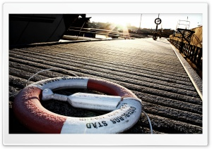 Life Buoy HD Wide Wallpaper for Widescreen