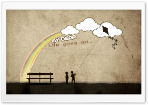 Life Goes On... HD Wide Wallpaper for Widescreen