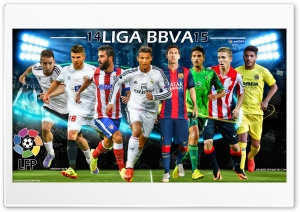 LIGA BBVA 2014 - 2015 HD Wide Wallpaper for 4K UHD Widescreen desktop & smartphone