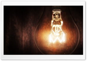 Light Bulb HD Wide Wallpaper for Widescreen