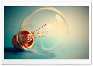Light Bulb Macro HD Wide Wallpaper for Widescreen