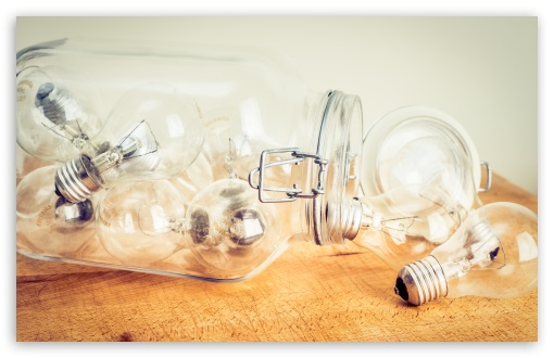 Light Bulbs in a Jar ❤ 4K UHD Wallpaper for Wide 16:10 5:3 Widescreen WHXGA WQXGA WUXGA WXGA WGA ; 4K UHD 16:9 Ultra High Definition 2160p 1440p 1080p 900p 720p ; UHD 16:9 2160p 1440p 1080p 900p 720p ; Standard 3:2 Fullscreen DVGA HVGA HQVGA ( Apple PowerBook G4 iPhone 4 3G 3GS iPod Touch ) ; Mobile 5:3 3:2 16:9 - WGA DVGA HVGA HQVGA ( Apple PowerBook G4 iPhone 4 3G 3GS iPod Touch ) 2160p 1440p 1080p 900p 720p ;
