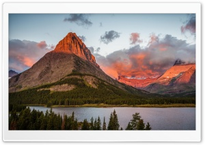 Light Of Sunrise On The Mountain HD Wide Wallpaper for Widescreen