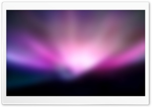 Light Purple Aurora HD Wide Wallpaper for Widescreen