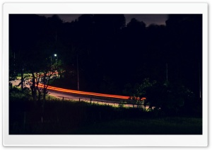 Light Trail HD Wide Wallpaper for Widescreen