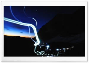 Light Trails HD Wide Wallpaper for 4K UHD Widescreen desktop & smartphone