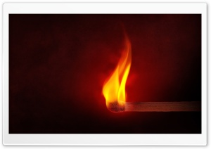 Lighted Matchstick HD Wide Wallpaper for Widescreen
