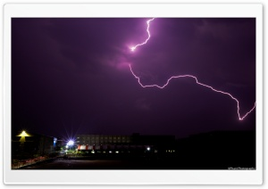 Lightening HD Wide Wallpaper for Widescreen