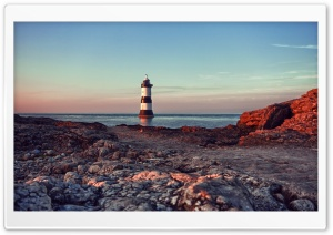 Lighthouse In The Water HD Wide Wallpaper for Widescreen